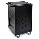 Luxor LLTM30-B - 30 Tablet/Chromebook Computer Charging Cart ES7451