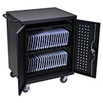 Luxor LLTM42-B - 42 Tablet/Chromebook Computer Charging Cart ES7454