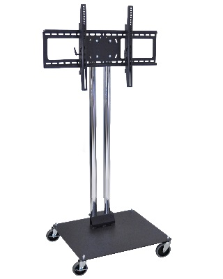 Luxor WPSMS44CH-4 - Mobile Universal LCD/Flat Panel TV Stand and Mount ES7464