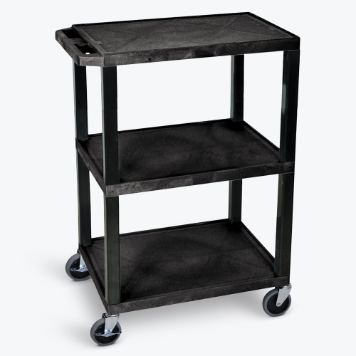 Luxor Tuffy Utility Cart - 3 Shelves ES7466