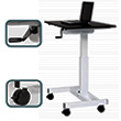 Luxor STANDUP-SC40-WB - Sit to Stand Student Desk ES7487