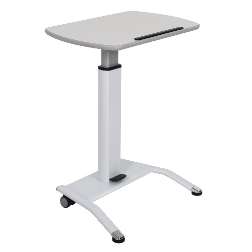 Luxor LX-PNADJ-WH - Pneumatic Height Adjustable Lectern ES7649