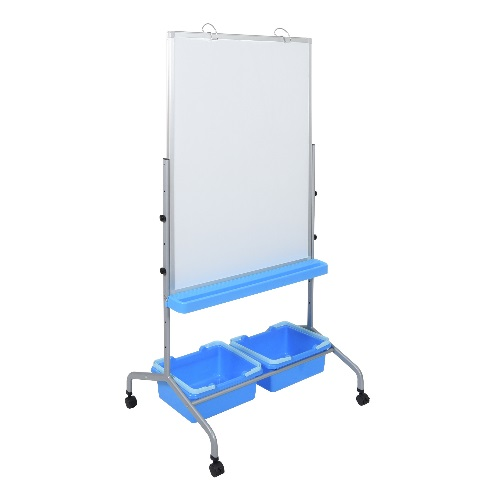 Luxor L330 - Classroom Chart Stand with Storage Bins ES7652