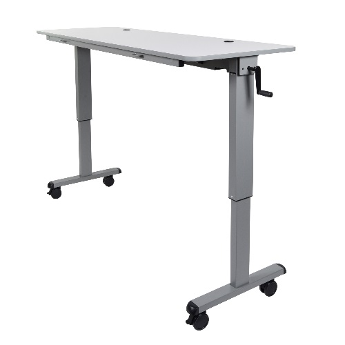 "Luxor STAND-NESTC-60 - 60"" Adjustable Flip Top Table ES7653"
