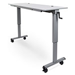 "Luxor 60"" Adjustable Flip Top Table with Crank Handle - STAND-NESTC-60 ES7653"