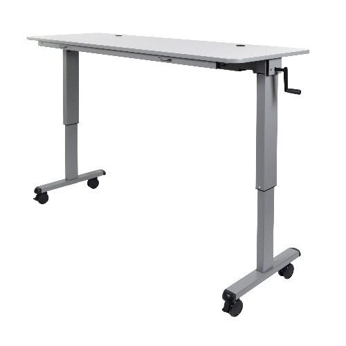 "Luxor STAND-NESTC-72 - 72"" Adjustable Flip Top Table ES7654"