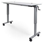 "Luxor 72"" Adjustable Flip Top Table with Crank Handle - STAND-NESTC-72 ES7654"