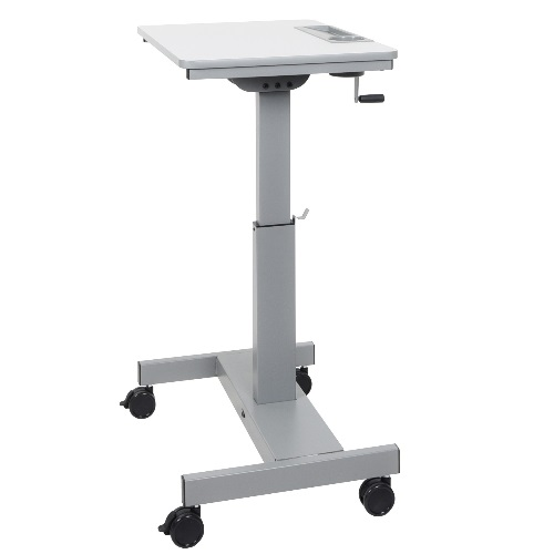Luxor STUDENT-C - Sit-to-Stand Student Desk with Crank Handle