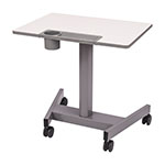 Luxor Sit-to-Stand Student Desk with Pneumatic Adjustment - STUDENT-P ES8793