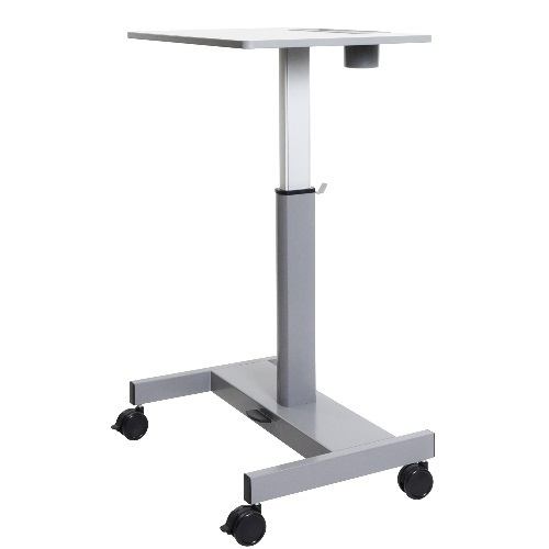 Luxor STUDENT-P-S - Sit-to-Stand Student Desk with Pneumatic Adjustment - Short Version