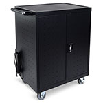 Luxor 32 Laptop/Chromebook Charging Cart with Timer - LLTP32-B ET10099