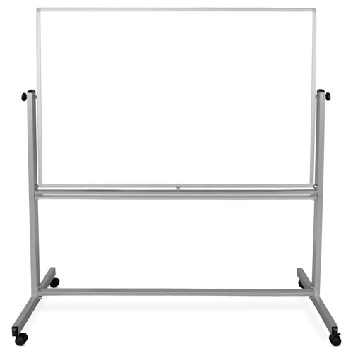"Luxor 60"" x 40"" Double-Sided Magnetic Whiteboard - MB6040WW"