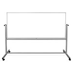 "Luxor 96""W x 40""H Double-Sided Magnetic Whiteboard - MB9640WW ET10430"