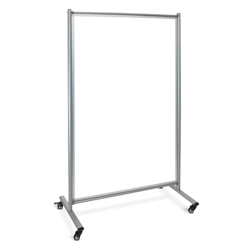 Luxor Mobile Magnetic Whiteboard Room Divider - MD4072W