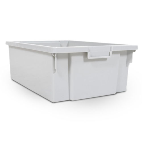 Luxor Stackable Storage Bins (4 Large) - MBS-BIN-4L