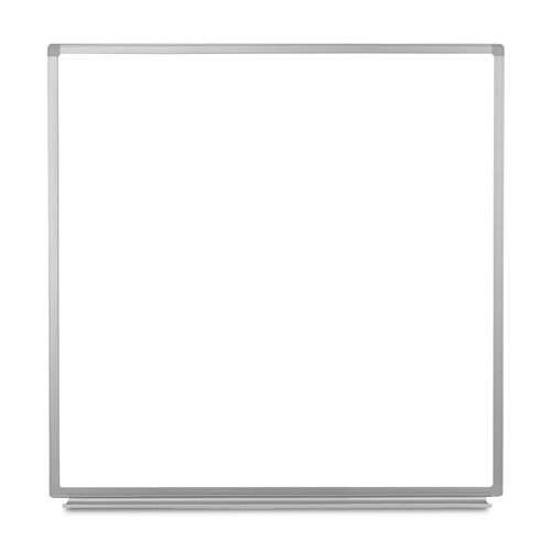 "Luxor 48""W x 48""H Wall-Mounted Magnetic Whiteboard - WB4848W"