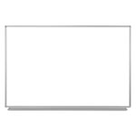 "Luxor 60""W x 40""H Wall-Mounted Magnetic Whiteboard - WB6040W ET10440"