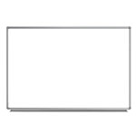 "Luxor 72""W x 48""H Wall-Mounted Magnetic Whiteboard - WB7248W ET10442"