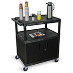 Luxor Large Coffee Cart - Cabinet - HE40C-B ET10505