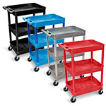 Luxor Tub Cart - Three Shelves - STC111 (4 Colors Available) ET10506