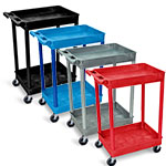 Luxor Tub Cart - Two Shelves - STC11 (4 Colors Available) ET10507