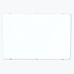 "Luxor 60""W x 40""H Magnetic Wall-Mounted Glass Board - WGB6040M ET10527"