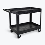 Luxor Two-Shelf Heavy-Duty Utility Cart - XLC11-B ET10711