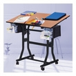 Martin Universal Design Creation Station Deluxe Hobby Table U-DS90B (Black) ES3863