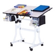 Martin Universal Design Creation Station Deluxe Hobby Table U-DS90W (White) ES3864