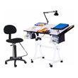 Martin Universal Design Creation Station Deluxe Hobby Table Package U-DS90041WH (White) ES3868