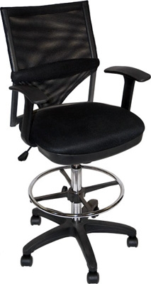 Martin Universal Design Comfort Mesh Drafting Chair 91-02406115 ...