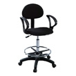 Martin Universal Design Stiletto Drafting Chair with Arms 91-11065115 (Black) ES3939