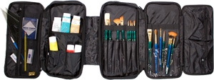 Martin Universal Design Just Stow-It Double Artist Tool Bag 66-JS1004