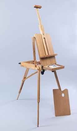 Martin Universal Design Martin Full Size Rolling Rivera French Sketch Box Easel 92-3037 ES4023