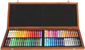 Martin Universal Design Gallery Artists' Oil Pastel Set MOP-72W