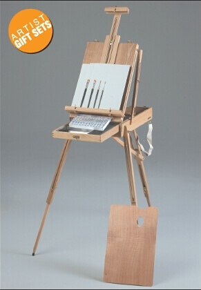 Martin Universal Design Rivera Sketch Box Easel Oil Painting Kit 63-AB30332 ES4043