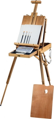 Martin Universal Design Rivera Sketch Box Easel Water Color Painting Kit 63-AB30333