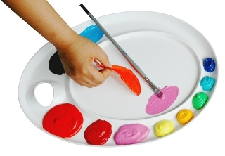 Martin Universal Design Mijello Ellipse-XL Peel-able Palette 92-AP3079 ES4065