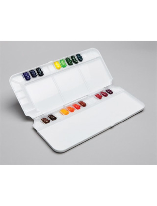 Martin Universal Design Mijello Pro Watercolor Sealable Palette 92-WP3032 ES5947