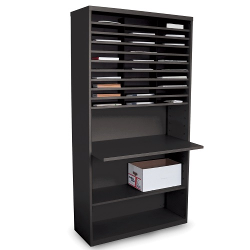 Marvel Mailroom Furniture Mail Sorter with Adjustable Work Surface (3 Colors Available)
