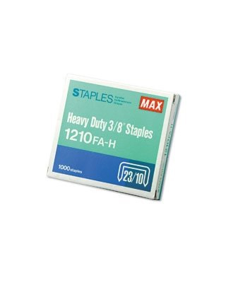Max Flat-Clinch Heavy-Duty Staples MXB1210FAH