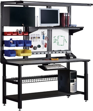 Mayline TechWorks Typical Workstation TW1