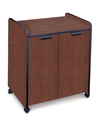 Mayline Mobile Utility Cabinet with Laminate Exterior 2110MU ES5252