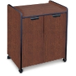 Mayline Mobile Utility Cabinet with Laminate Exterior 2110MU (2 Colors Available) ES5252