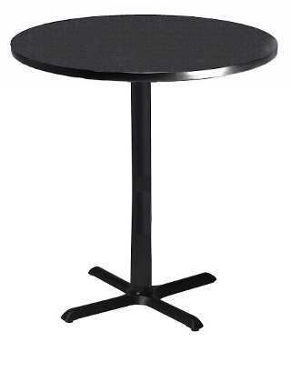 Mayline Bistro 30 Round Bar Height Table ES5271