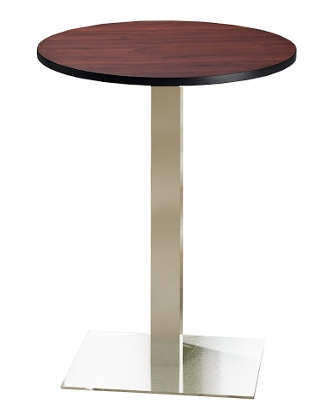 Mayline Bistro 36 Round Bar Height Table ES5274