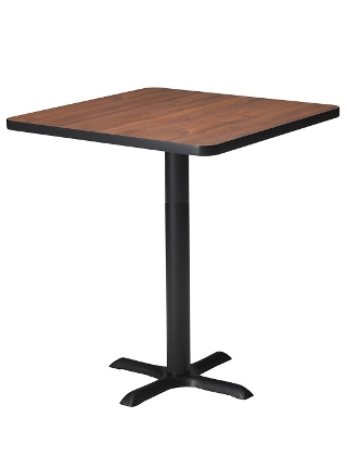 "Mayline Bistro 36"" Square Bar Height Table ES5280"