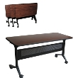 "Mayline 24"" X 72"" Rectangular Flip-N-Go Table (2 Models Available) ES5305"