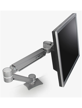 Mayline Desk-Mounted Single Screen Monitor Arm EZKE1 ES5779