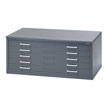 Mayline Hamilton Unit System 5-Drawer Flat File with Dust Covers - 4J15D (5 Colors Available) ES6419